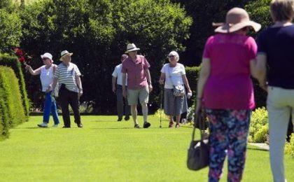 idosos com saúde